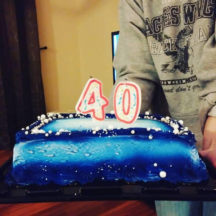 40thdaycake